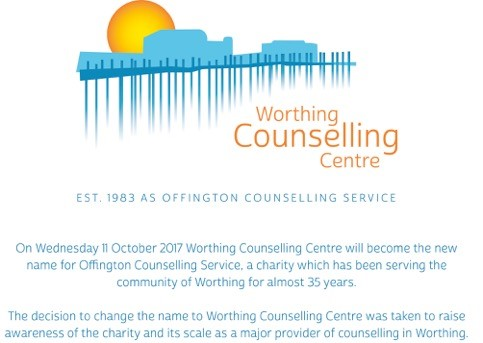 The new Worthing Counselling Centre site